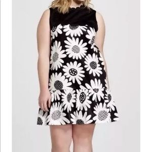 Victoria Beckham for Target Mod floral dress 3X